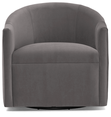 jolie swivel chair taylor felt grey
