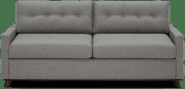 hopson sleeper sofa taylor felt grey