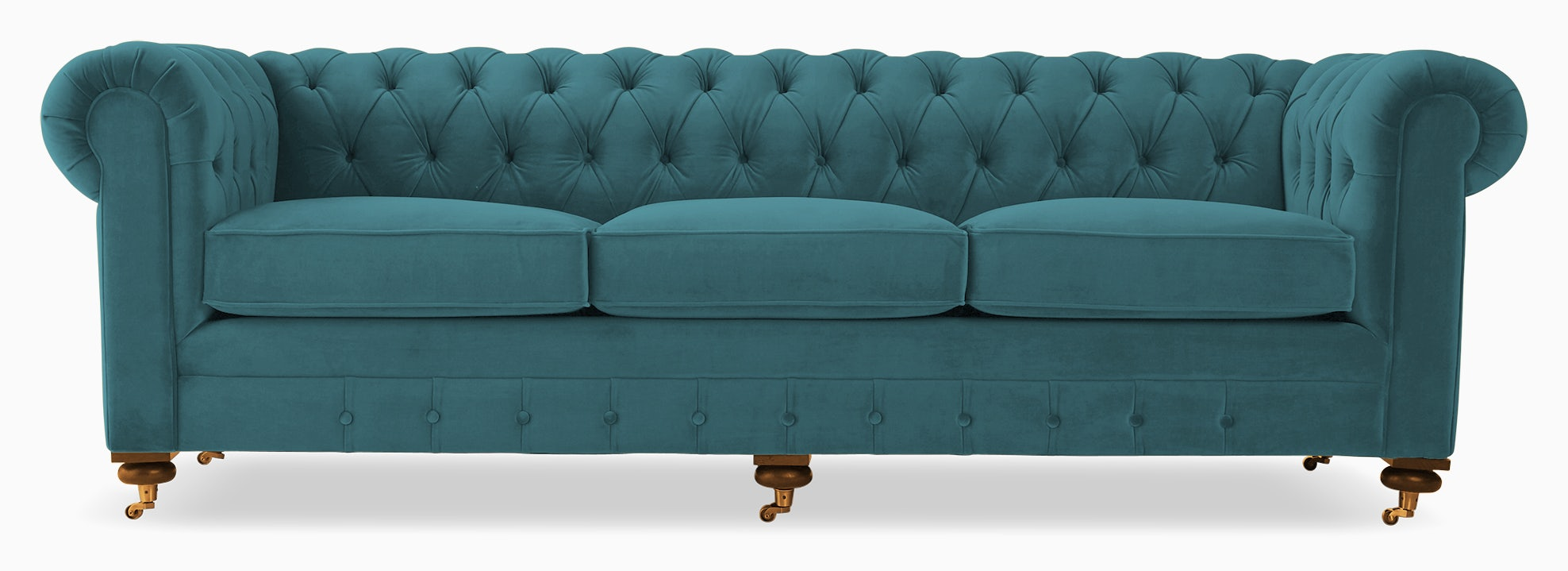 liam sofa lucky turquoise