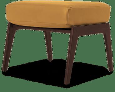 soto leather ottoman colonade sycamore