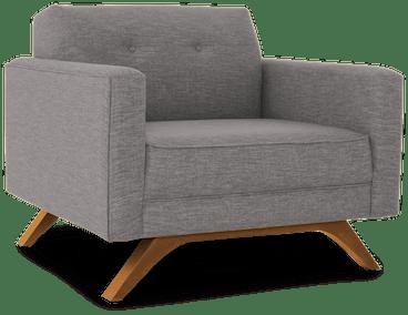 roddy chair taylor felt grey