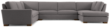 anton sofa bumper sectional %284 piece%29 taylor felt grey