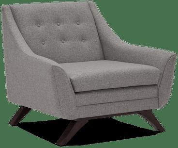 aubrey chair taylor felt grey