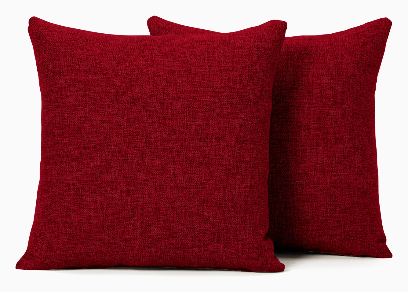 decorative knife edge pillows %28set 2%29 key largo ruby