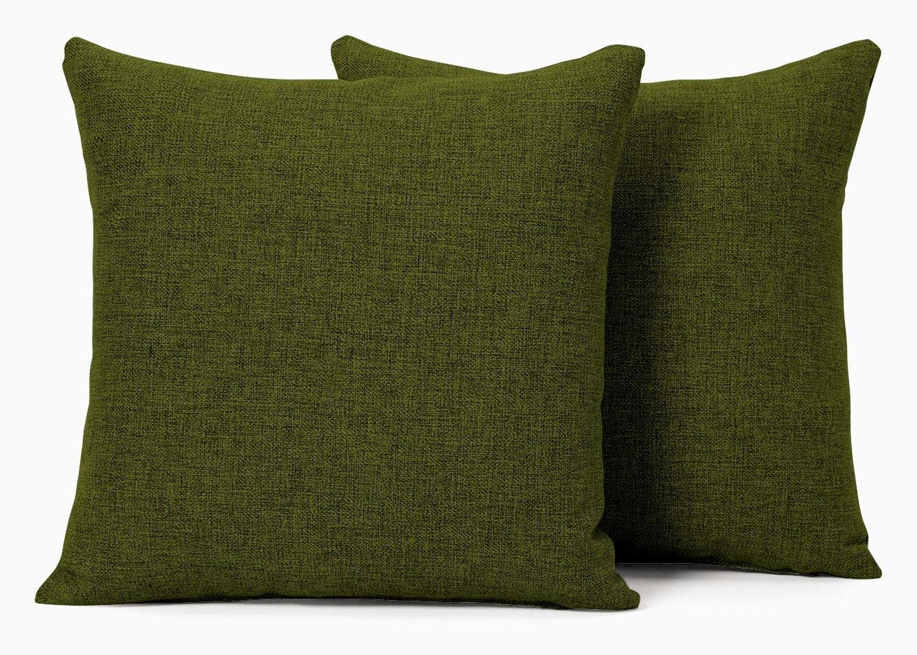 decorative knife edge pillows %28set 2%29 royale apple