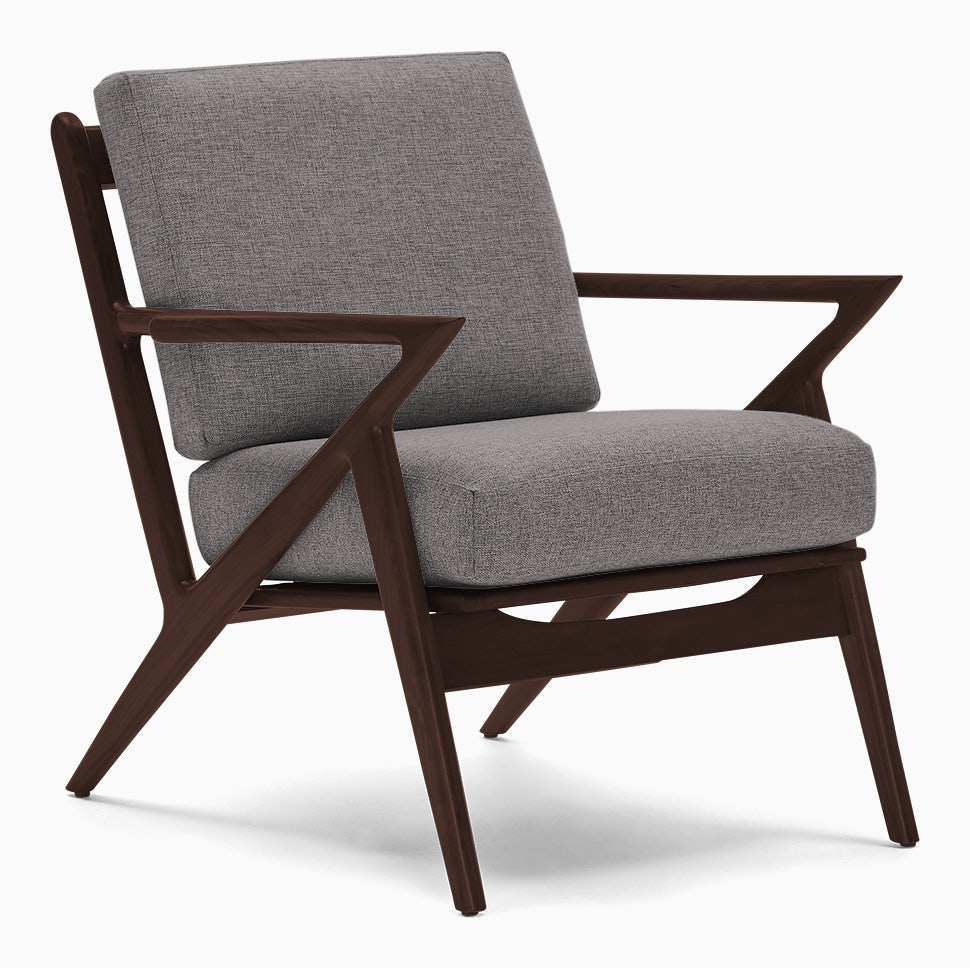 soto chair taylor felt grey