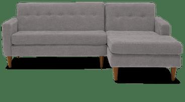 korver apartment sectional taylor felt grey
