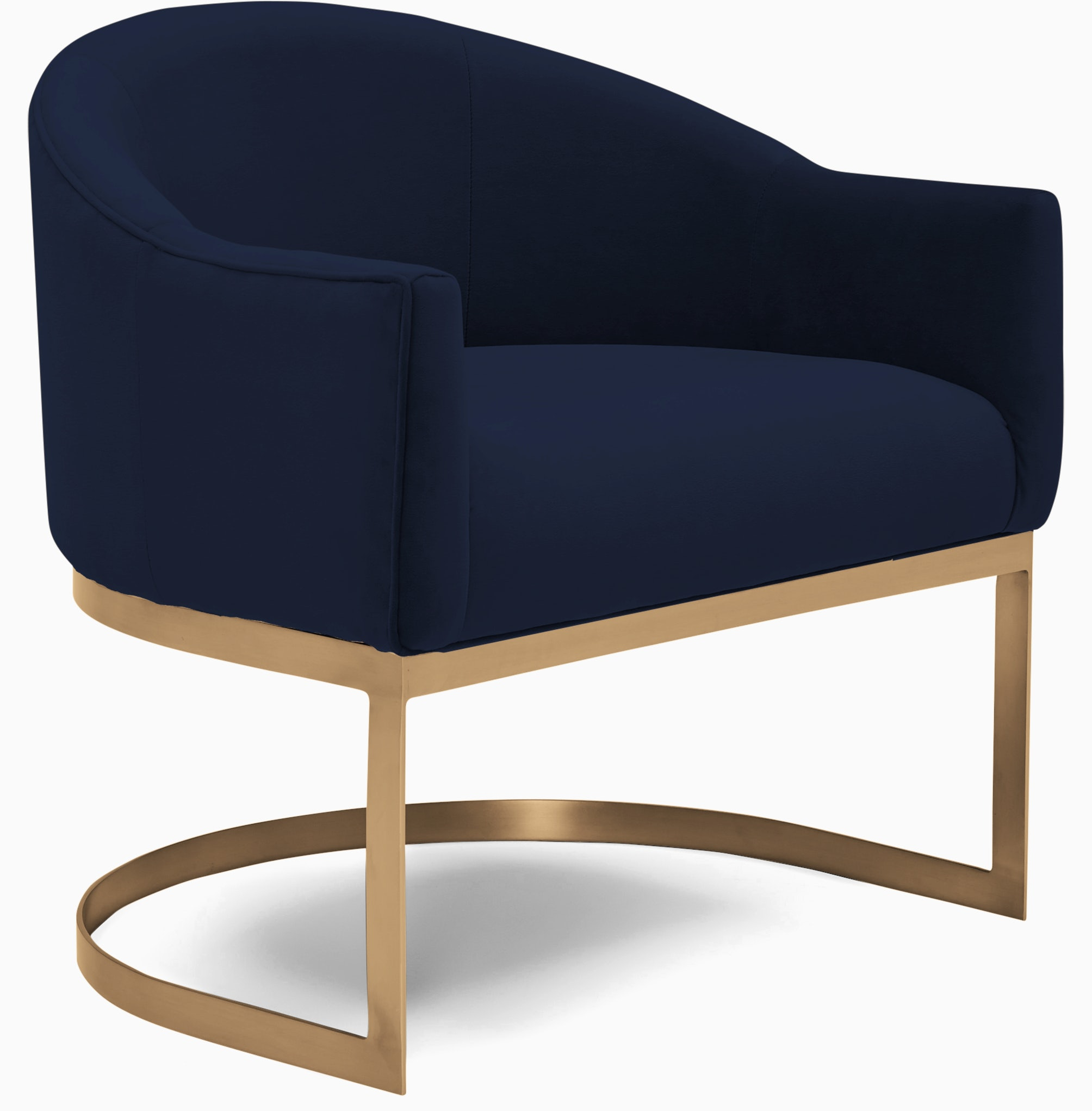 jolie accent chair bentley indigo