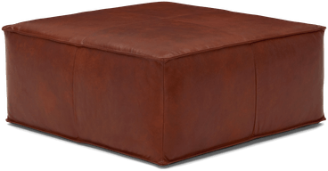 lyle leather ottoman olympia chestnut