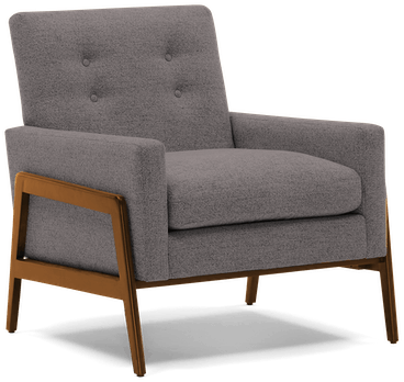 clyde chair taylor felt grey
