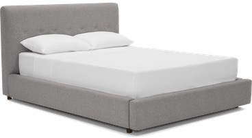 alvin storage bed taylor felt grey
