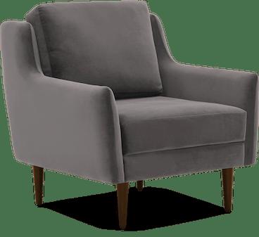 bell chair taylor felt grey