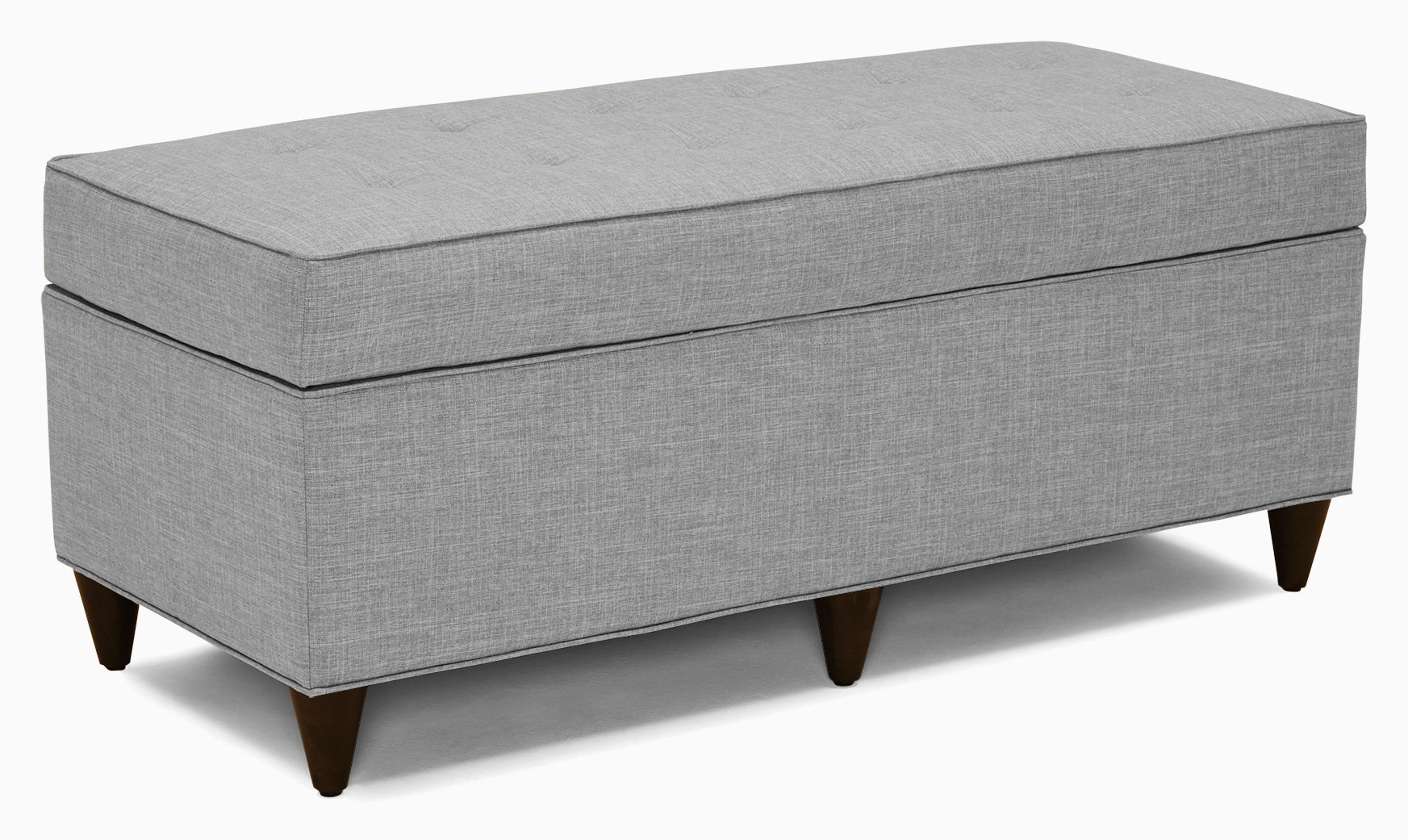 cammy bench with storage milo dove