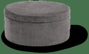 quinn large storage ottoman taylor felt grey