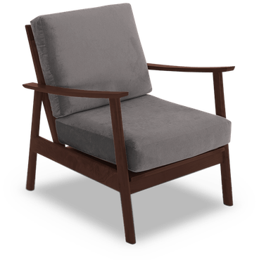 paley chair taylor felt grey