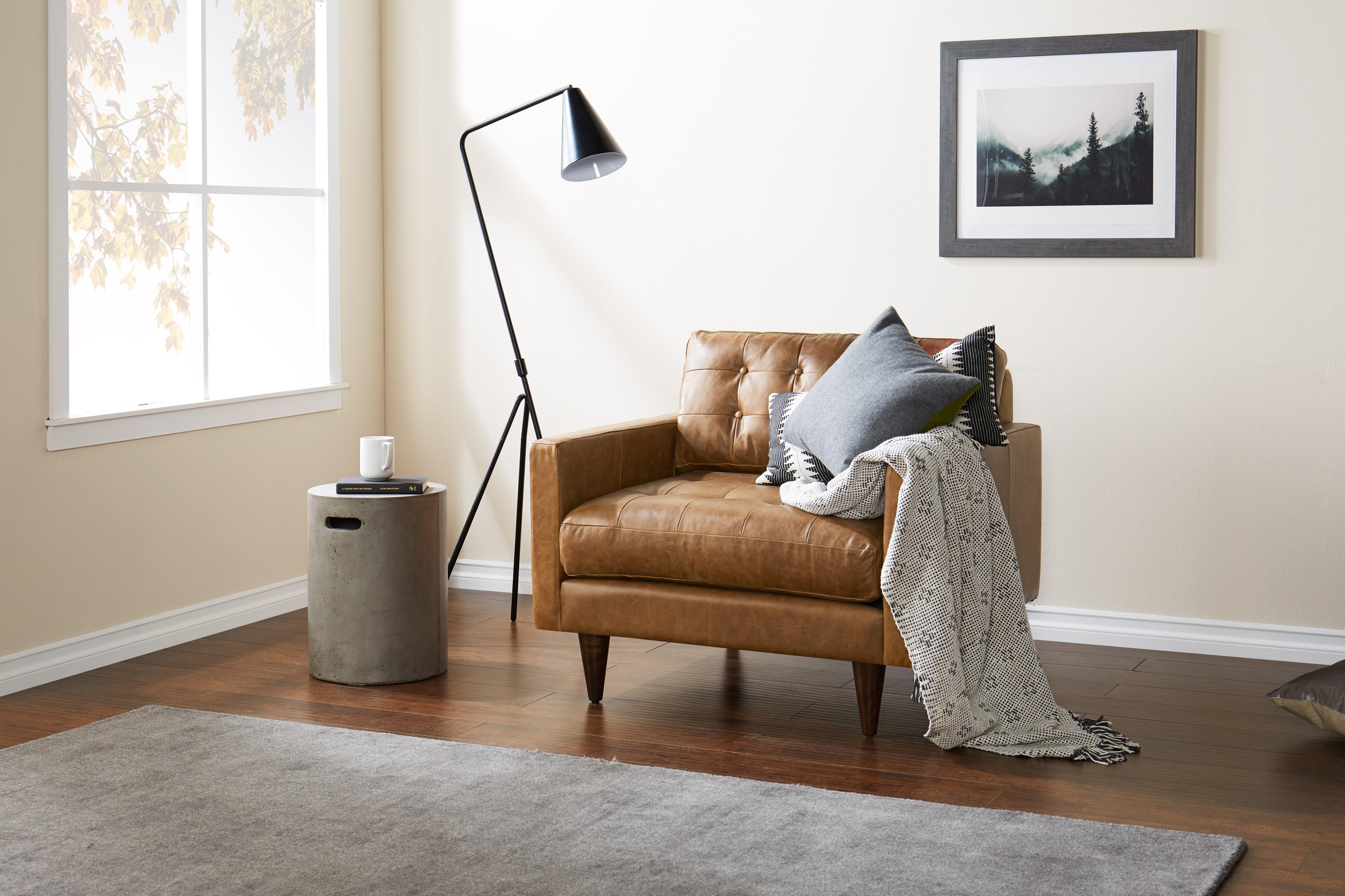 Eliot Leather Chair Santiago Ale
