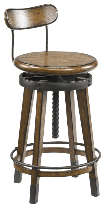ntrlbrwn odell adjustable stool
