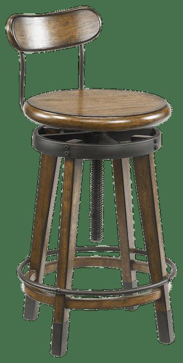 ntrlbrwn odell adjustable stool