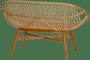 natural reese bench