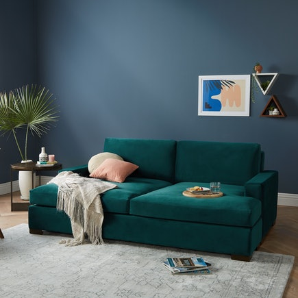 Anton Daybed Royal Peacock