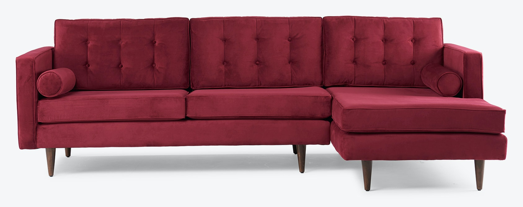 Braxton sectional bella merlot walnut lastudio webres