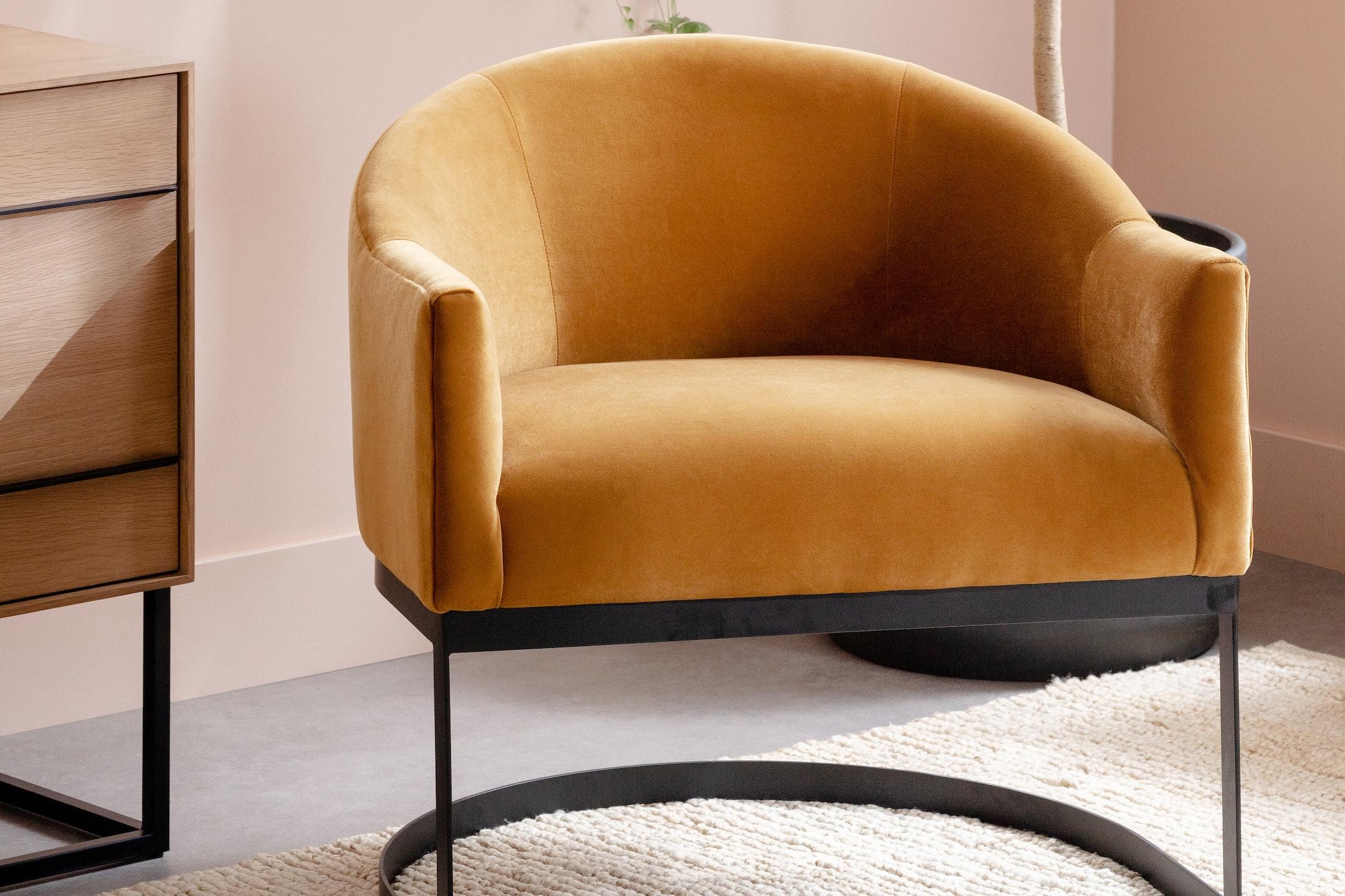 Jolie chair sorrento marigold