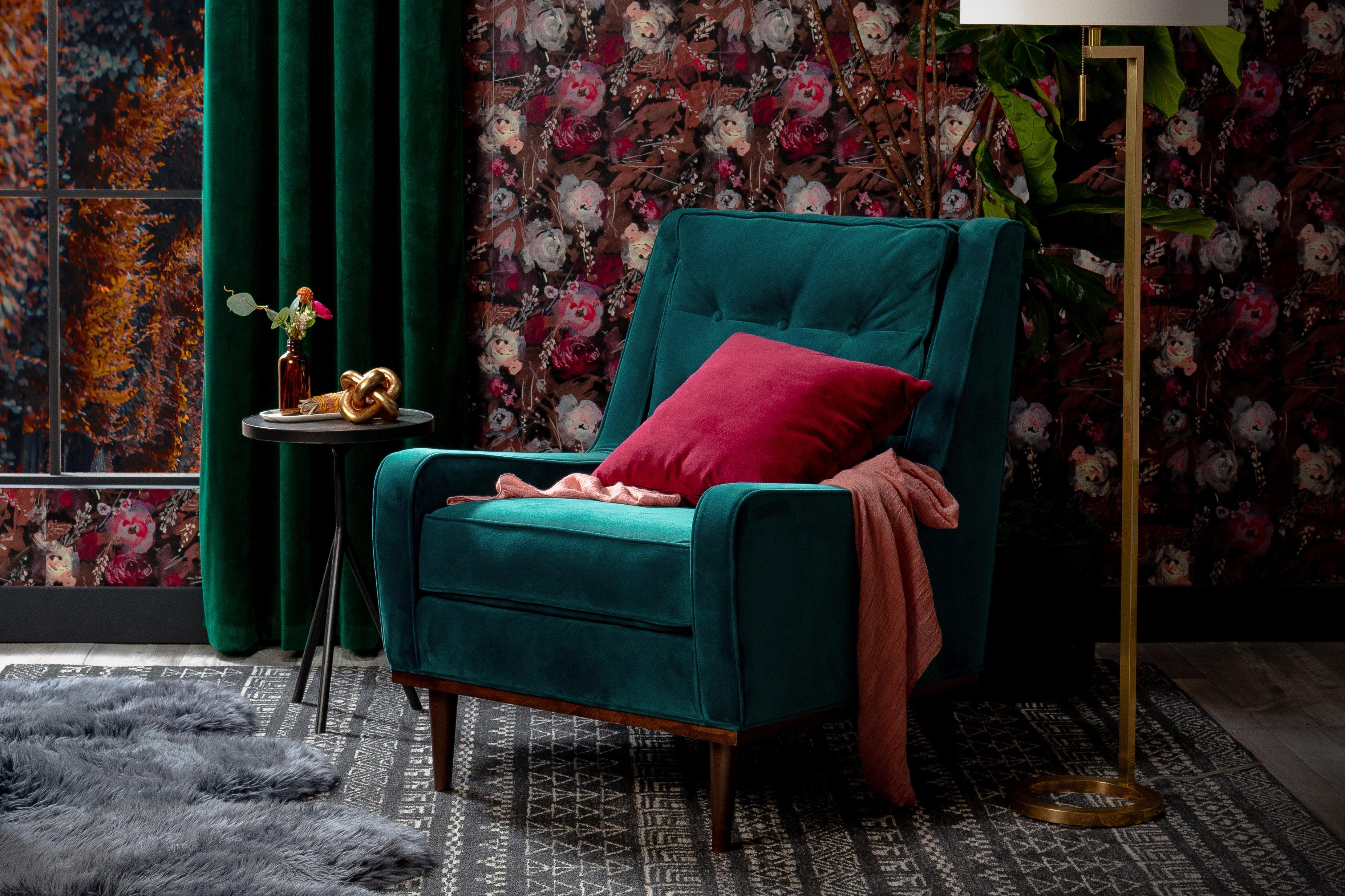 Sleep Sale Brice Chair Royale Peacock