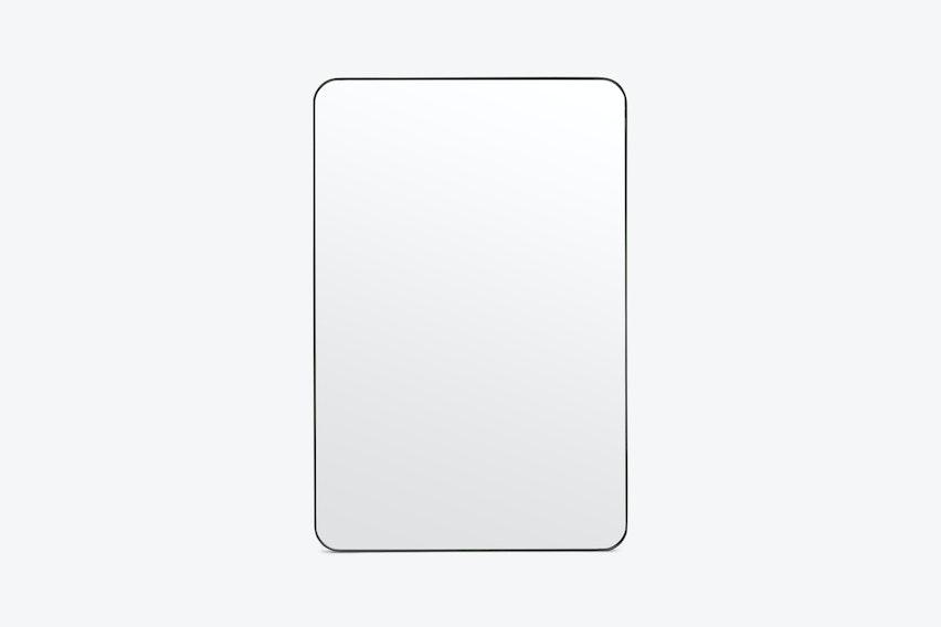 Amelia Black Matte Mirror