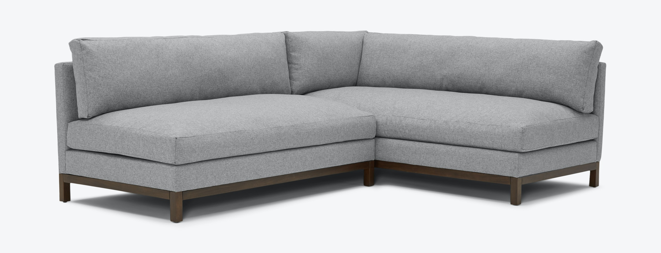 Arwen Sectional Taylor Felt Grey